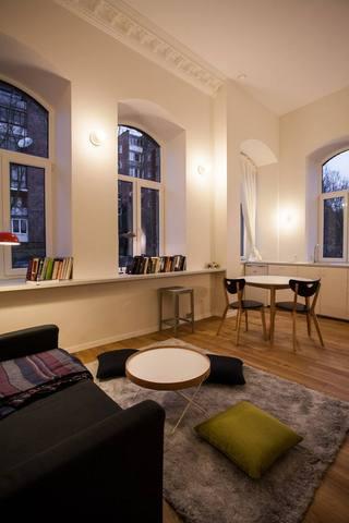 自然北欧风情 公寓混搭效果图