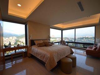 时尚现代设计卧室景观窗欣赏