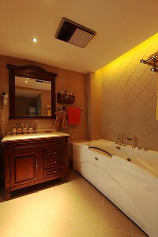现代新中式混搭卫生间装修案例