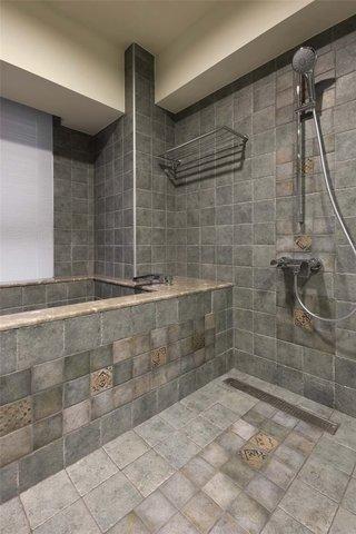 复古简约风卫生间浴室设计