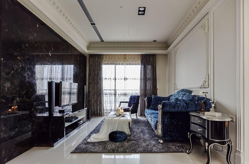 摩登欧式客厅装潢设计大全