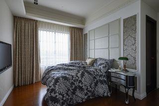 时尚简欧风卧室窗帘欣赏