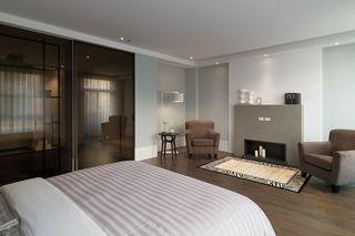 现代日式风格卧室效果图