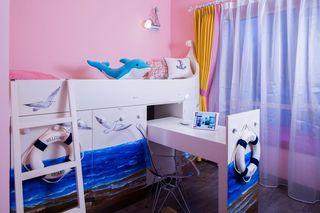 粉色甜美混搭风儿童房创意家居设计