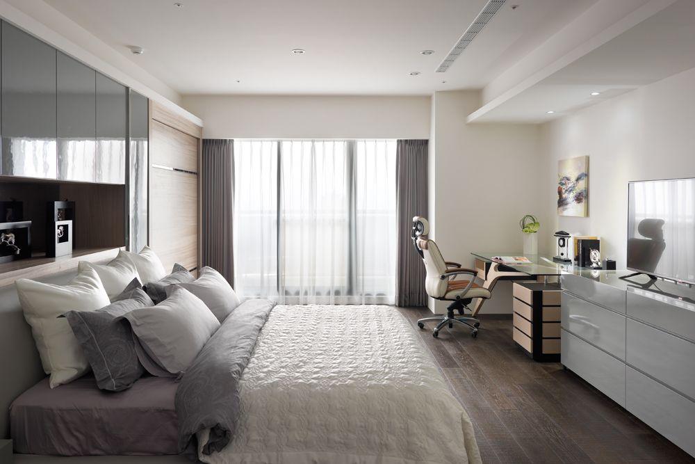 舒适简约现代卧室效果图大全