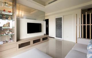 家装两室两厅现代风格装修