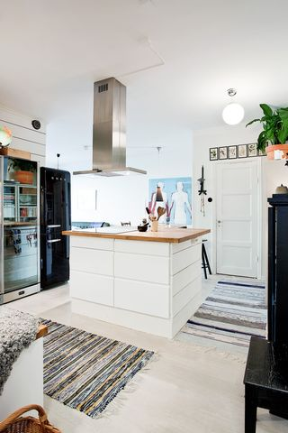个性北欧风情 开放式厨房效果图