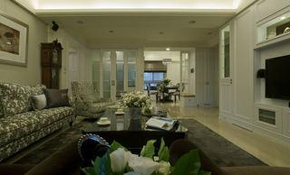 美式田园风三室两厅装修设计