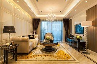 高贵欧式新古典客厅装修大全