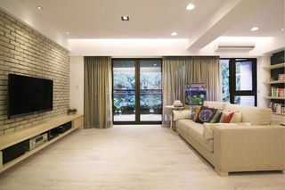 温馨暖色系宜家风公寓装潢设计欣赏