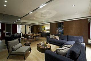 时尚现代公寓装修案例图