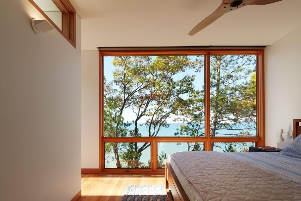 休闲美式风格卧室窗户效果图