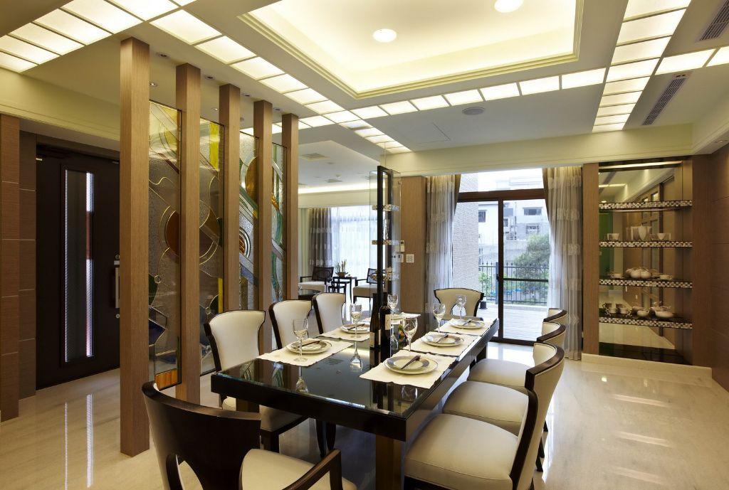 时尚现代公寓餐厅设计装修图