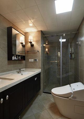 简约复古卫生间设计欣赏