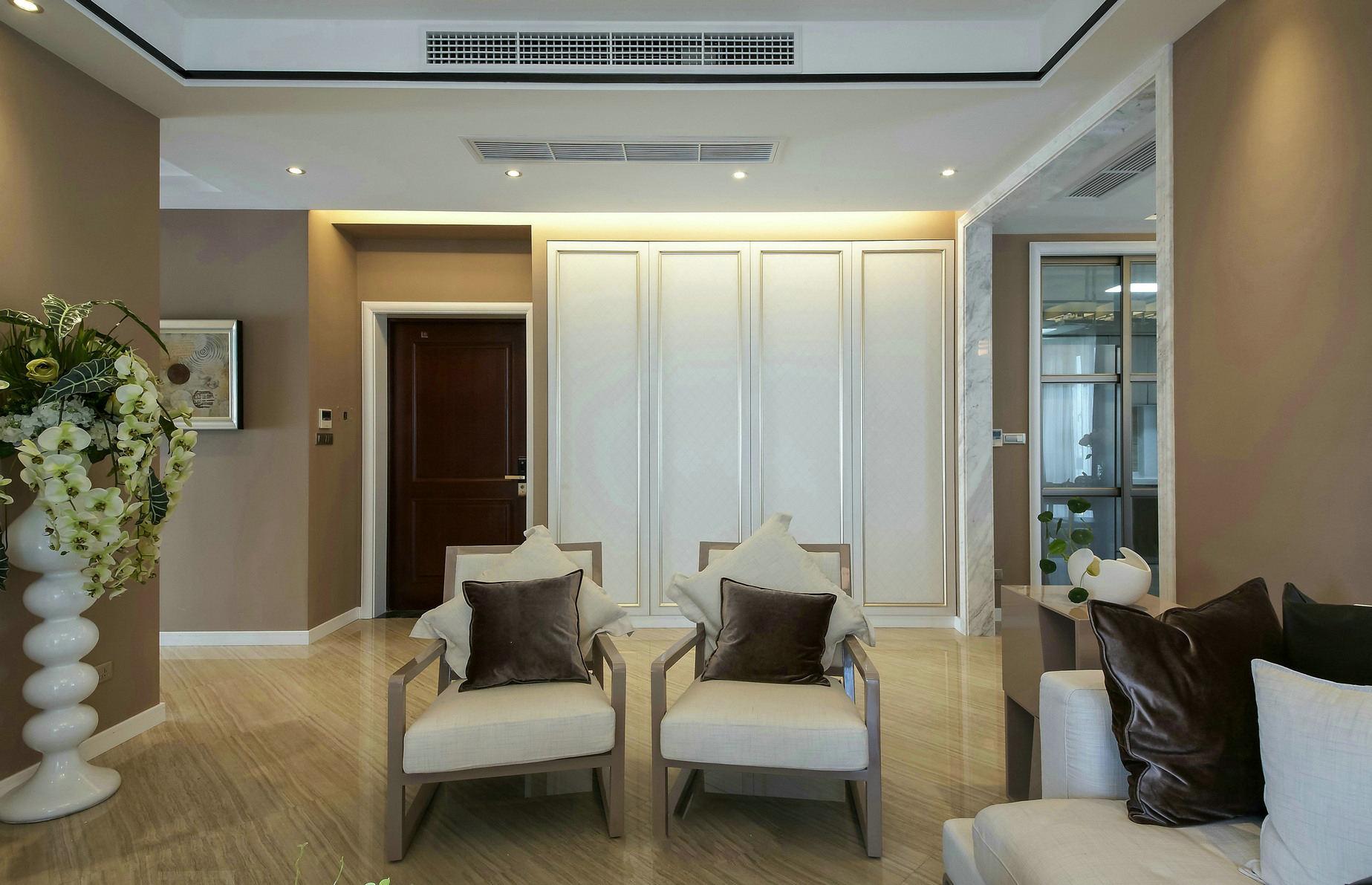 时尚简约美式家居壁柜设计