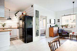 个性复古北欧风情小公寓设计