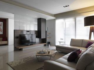 简约现代风格客厅效果图