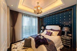 雅致新古典卧室背景墙装饰