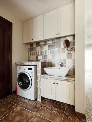 复古简欧洗手间 干区装饰设计