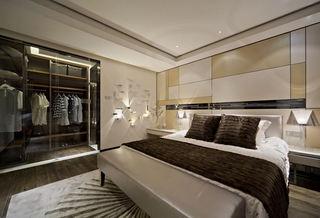 时尚现代卧室衣帽间设计