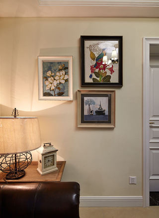 古典美式家居相片墙设计