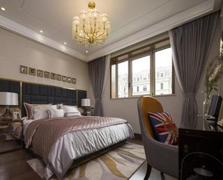 经典美式风格卧室装修效果图