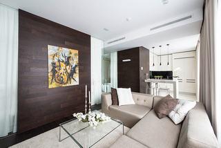 简约现代单身公寓装修设计