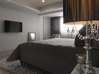 时尚灰色系宜家卧室装饰设计