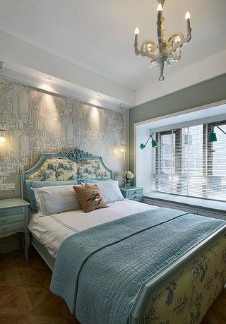 精美北欧新古典卧室背景墙设计