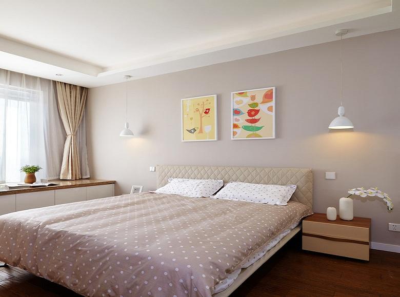 现代卧室简约装修效果图