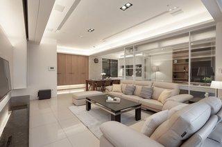 12萬元打造素雅簡約三居室家裝案例圖