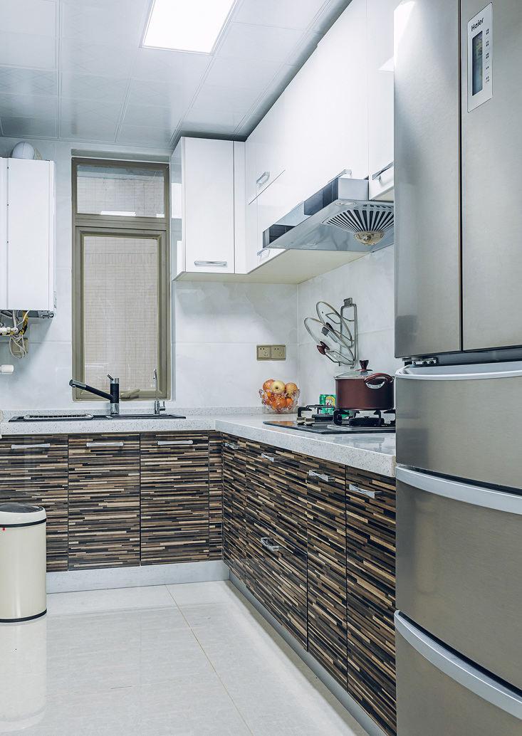 摩登时尚现代厨房装修欣赏