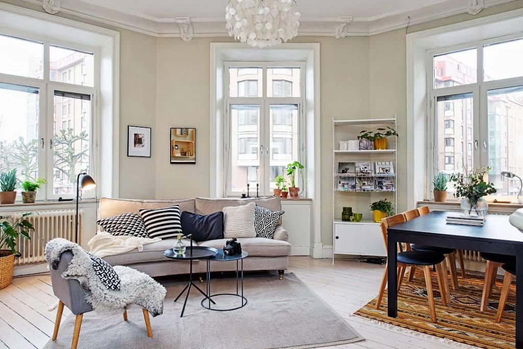 小户型公寓北欧风格装修图