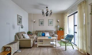 素雅宜家北欧风客厅装饰设计