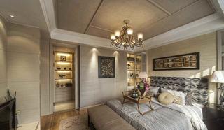 浅咖啡色现代欧式风 卧室案例图
