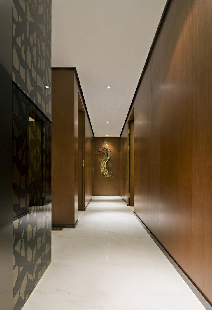 古典现代风格过道装修设计