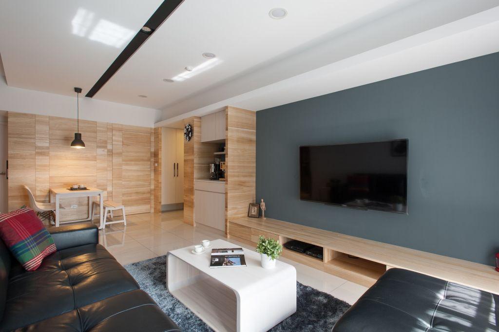 最新现代三居室内装修图例