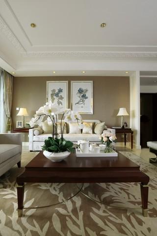 简欧风格客厅 沙发背景墙设计