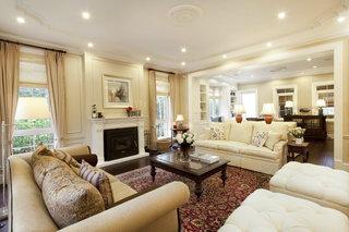 古典美式风格家居吊顶设计