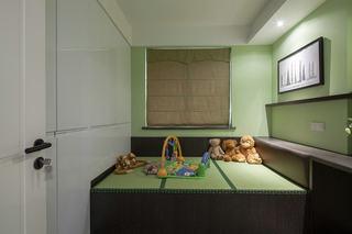 简中式现代儿童房装修图