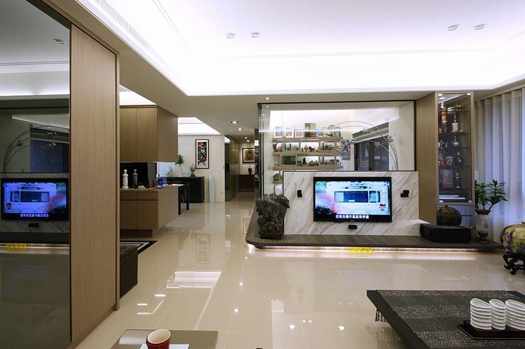现代120平三居室内装修设计