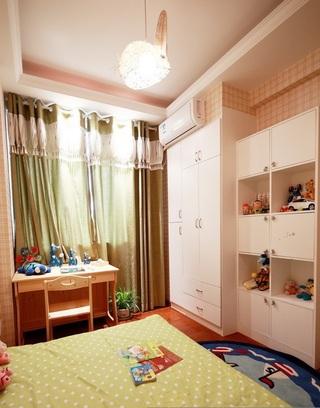 现代家居儿童房收纳柜设计