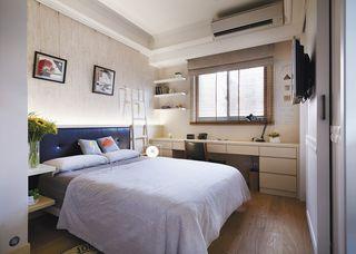家居卧室休闲书桌简约现代设计