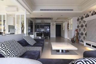 雅致现代风格公寓室内装饰图