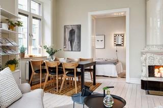 北欧小户型餐厅布置