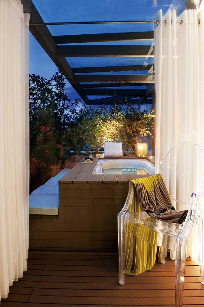时尚现代别墅开放式浴室欣赏