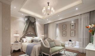 优雅唯美简欧风格卧室设计