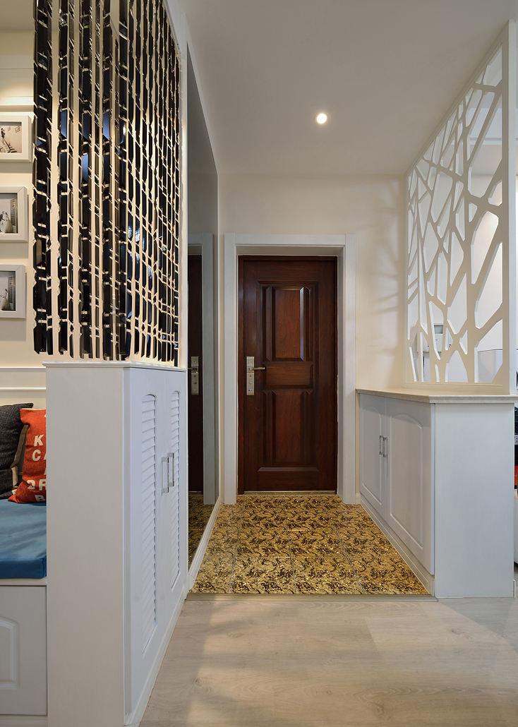 简约现代二居玄关设计装修图