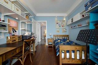 清新宜家复古儿童房装饰设计