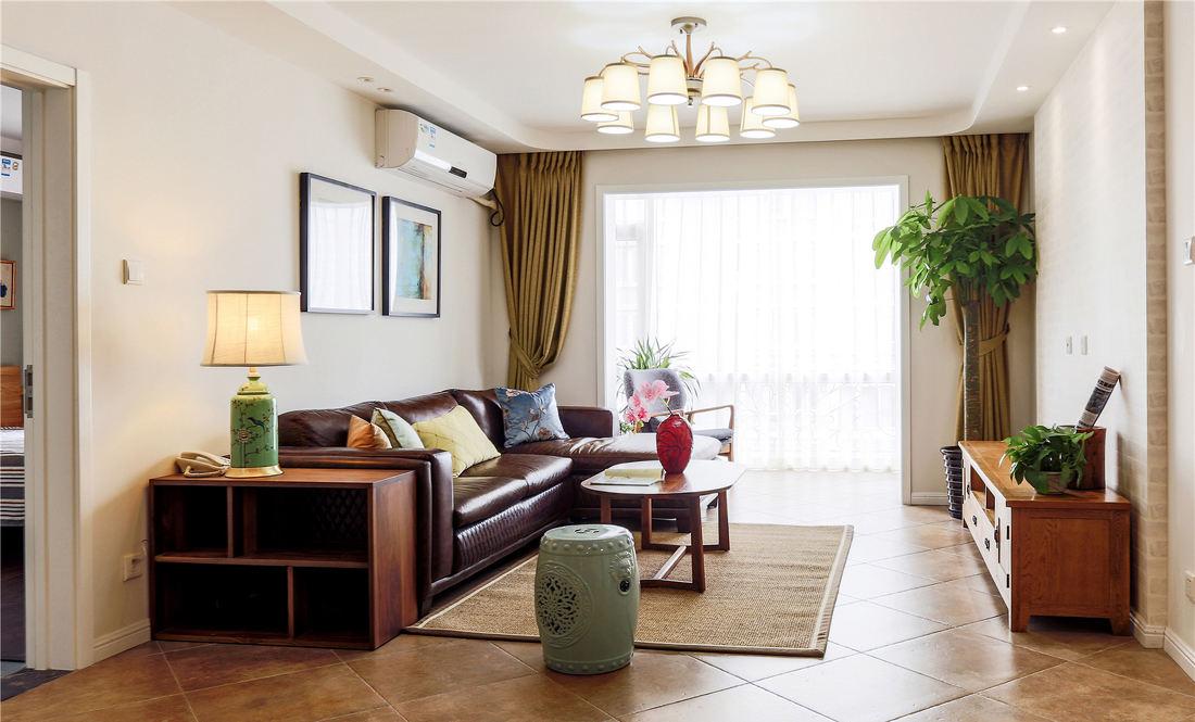 二居客厅宜家风格装修效果图